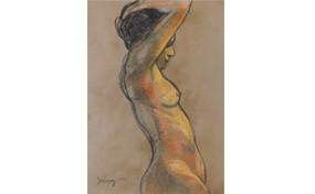 Nude in Profile